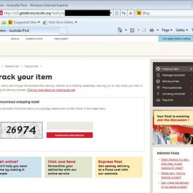 Ransomware Outbreak: Fake Australia Post Websites Spreading TorrentLocker